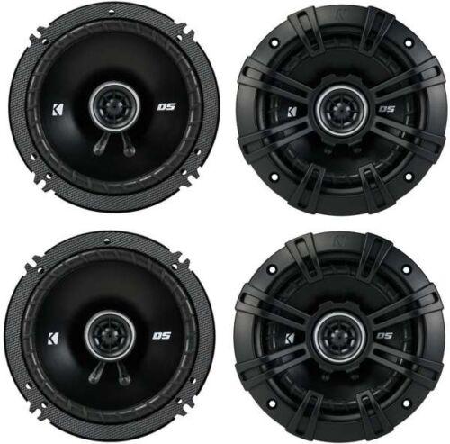 Kicker 43DSC6504 6.5-Inch 200W 2-Way 4-Ohm Coaxial Speakers DSC6504 4