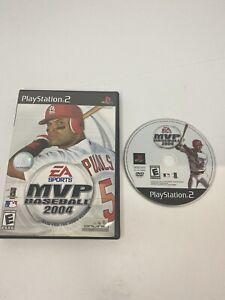 MVP Baseball 2004 (Sony PlayStation 2, 2004) Free Shipping