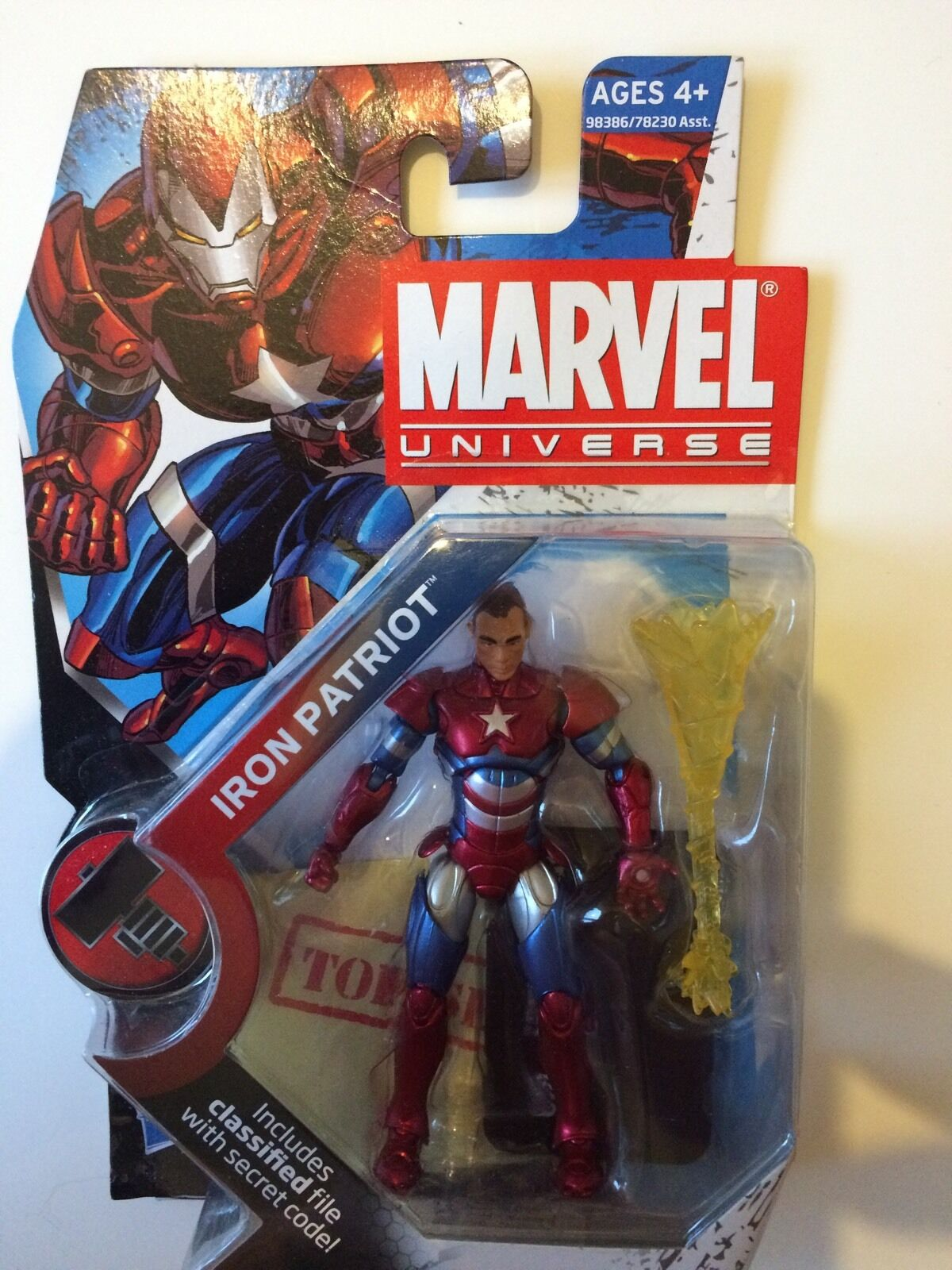 UNIVERSO MARVEL AVENGERS infinite Figure 3.75  MOC Nuovo di zecca/IRON PATRIOT