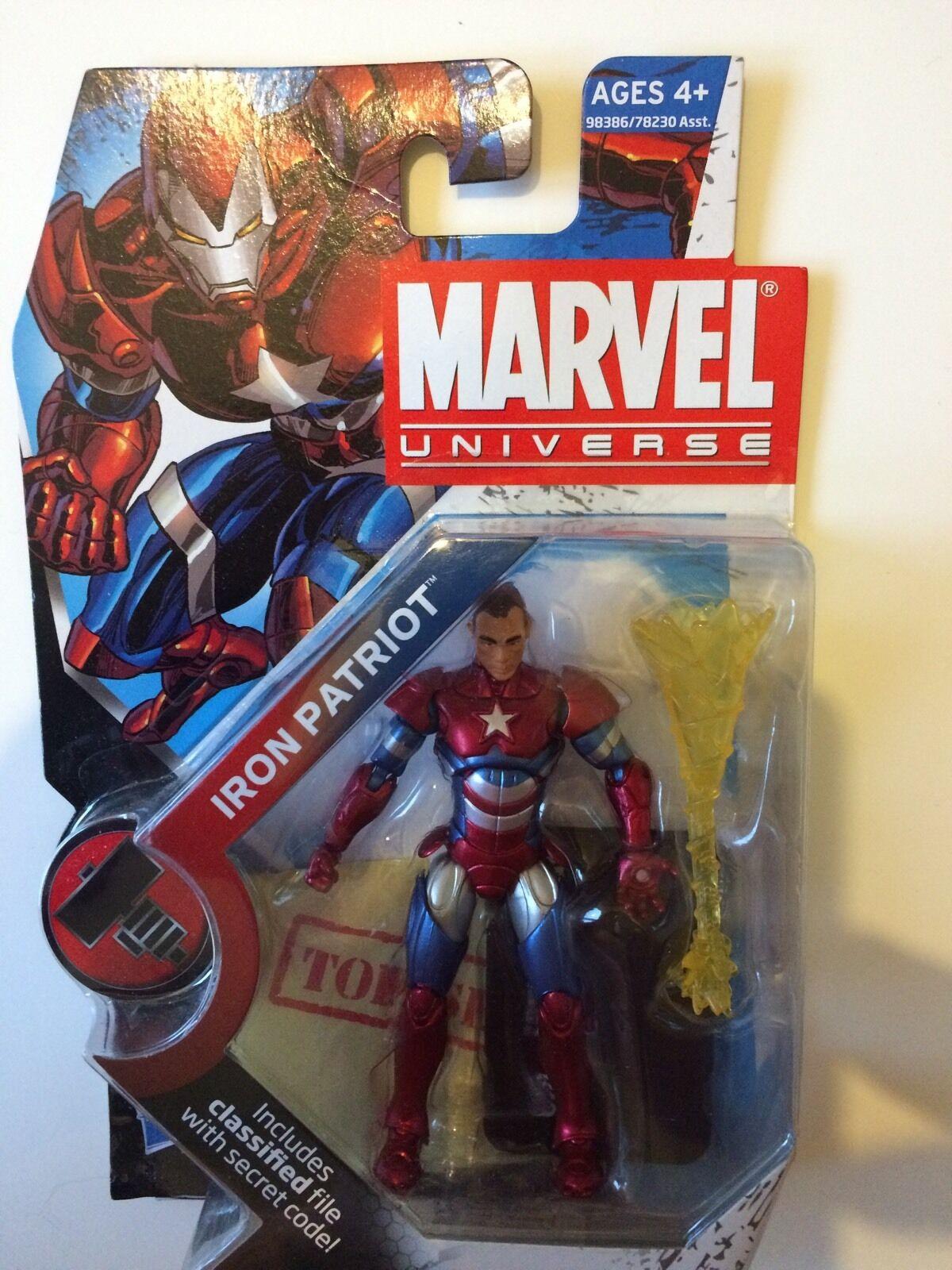Marvel Universe Avengers Infinite figures 3.75  Brand New MOC Iron Patriot