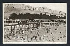 View of Electric Cars Crossing Banjo Groyne, Kemptown, Brighton. Postmark 1929