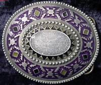 Buckle mit Azteken-Maya-Symbol, sehr schöne Gürtelschnalle