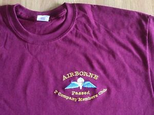 Parachute-Regiment-amp-Airborne-Forces-Passed-P-Coy-Members-Club-Tees-Polos