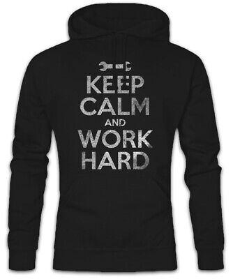 Keep Calm and Love Hard Trance hoodie