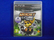 ps3 RATCHET & AND CLANK TRILOGY 1 + 2 + 3 Playstation PAL ENGLISH UK Version