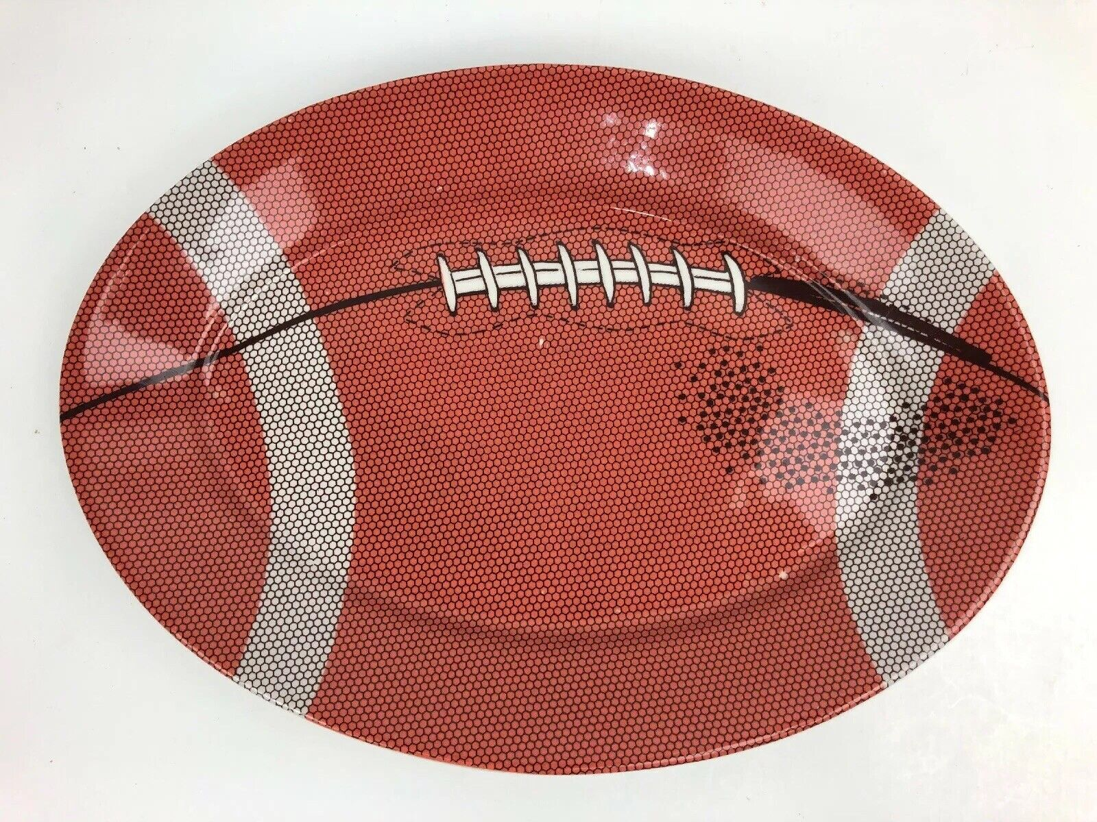 Rare Homer Laughlin Football Sports 1941 Serving Plate Party Platter 12 5 Hlc For Sale Online
