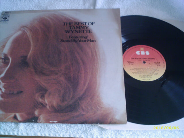 """THE BEST OF TAMMY WYNETTE - 12"""" VINYL LP RECORD - COUNTRY'S FINEST"""