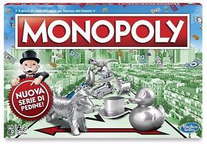 MONOPOLY-RETTANGOLARE-gioco-monopoli-ITALIANO-C1009103-Hasbro-nuovo-Italia
