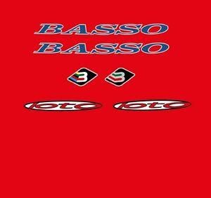 Basso-LOTO-Calcamonias-para-bicicleta-Transfers-ADHESIVOS-N-500