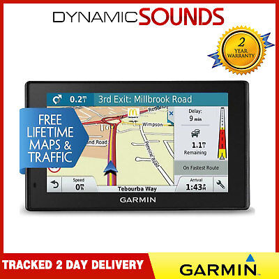 "Garmin DriveSmart 51 LMT-S 5"" Sat Nav UK - Lifetime Maps & Live Traffic WI-FI"