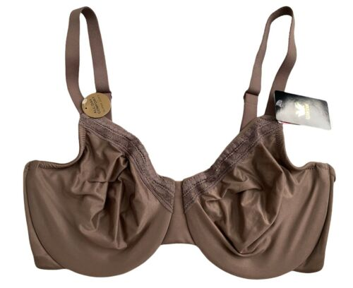 Wacoal Nwt Perfect Primer Underwire Full Figure Unlined 855213 Bra Deep Taupe