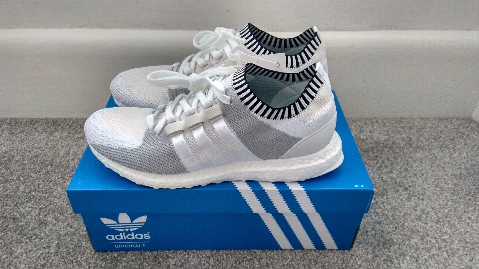 Adidas EQT Support Ultra Primeknit Vintage Bianco, doppia Scatola