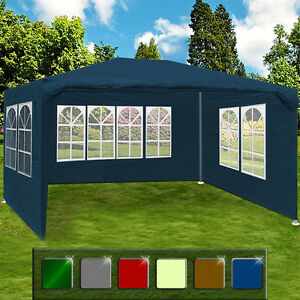 Image Is Loading Gazebo Maui 3x4m Garden Party Marquee Outdoor Awning