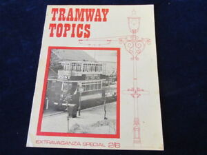 Tramway Topics 1968 Crich Extension to Wakebridge Steam Traction Q501