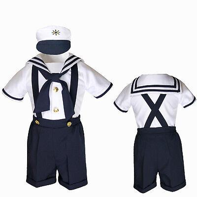 Milltex 5 Pieces Formal Wedding Color Satin Vest /& Bow tie Shirt W//Hat Black Shorts Set Baby Boy Toddler Sm-4T