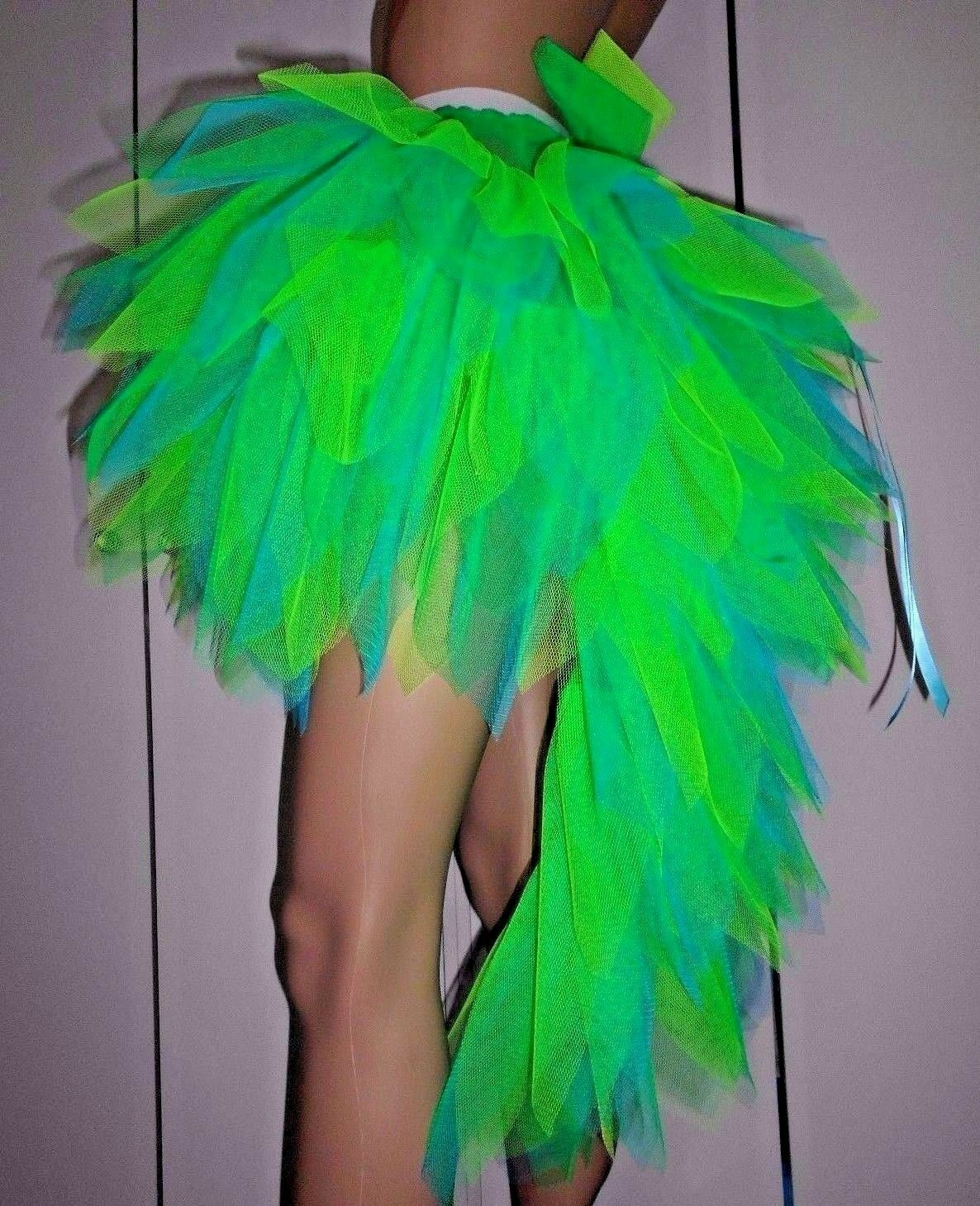 Stunning Fantasy Tutu with full Tail. Carnival Dance Festival Hen Party.