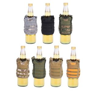 Tactic-Beer-Bottle-Cover-Soda-Can-Vest-Military-Mini-Molle-Vest-Personal-Gifts
