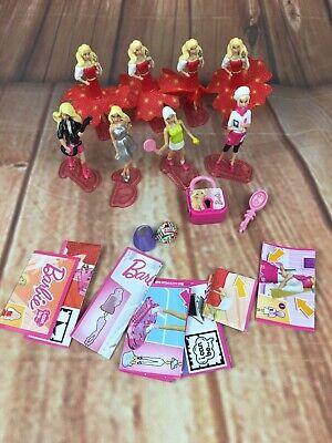8x Barbie Kinder Uovo Orchestrato Bambola Mini Figures Bambola Cake Topper Toys Bundle-mostra Il Titolo Originale Calcolo Attento E Bilancio Rigoroso