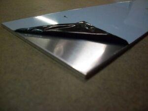 """1//8/"""" x 6/"""" x 11/"""" Aluminum Plate .125/"""" 5052 Aluminum"""