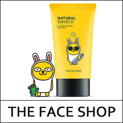 [THE FACE SHOP] Kakao Friends Natural Sun Eco No Shine Hydrating Sun Cream / D둘