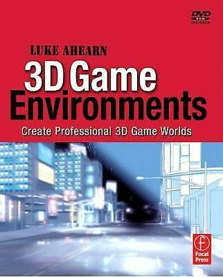 3D Game Environments: Create Professional 3D Game Worlds by Luke Ahearn (Paperb…