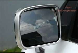 Chrome-side-door-Mirror-rims-frame-trim-For-land-rover-Discovery-4-LR4-2009-2013