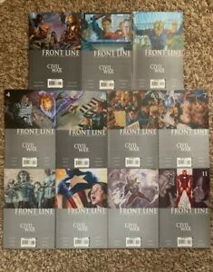 Civil War Front Line 1-11 (complete comic series) Marvel Avengers
