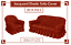 Jacquard-Sofa-Cover-for-1-2-amp-3-Seater-in-7-Colours-Alternate-to-Sofa-Throw thumbnail 8