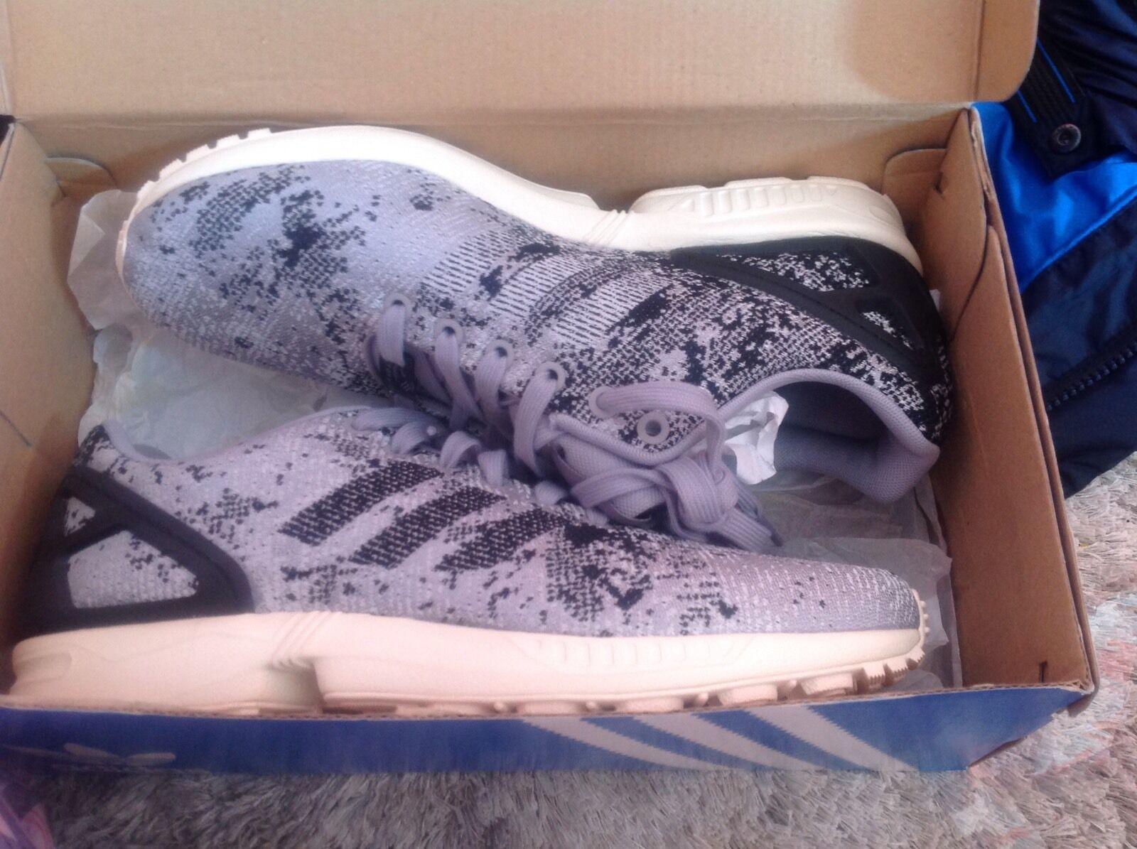 c87f0c2e4 ... adidas Originals ZX flux Weave B23601 mens Shoes Gray black Gray black  Gray
