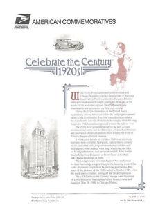 538A-32c-1920s-Celebrate-the-Century-S15-3184-USPS-Commemorative-Stamp-Panel