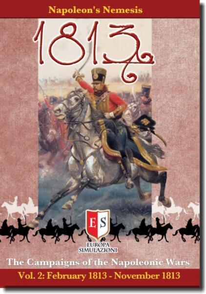 1813 Napoleon's Nemesis, Wargame, New By Es, English Edition