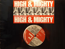 """THE HIGH & MIGHTY - OPEN MIC NIGHT / THE MEANING (12"""") 1997  RARE!!  ALCHEMIST ♫"""