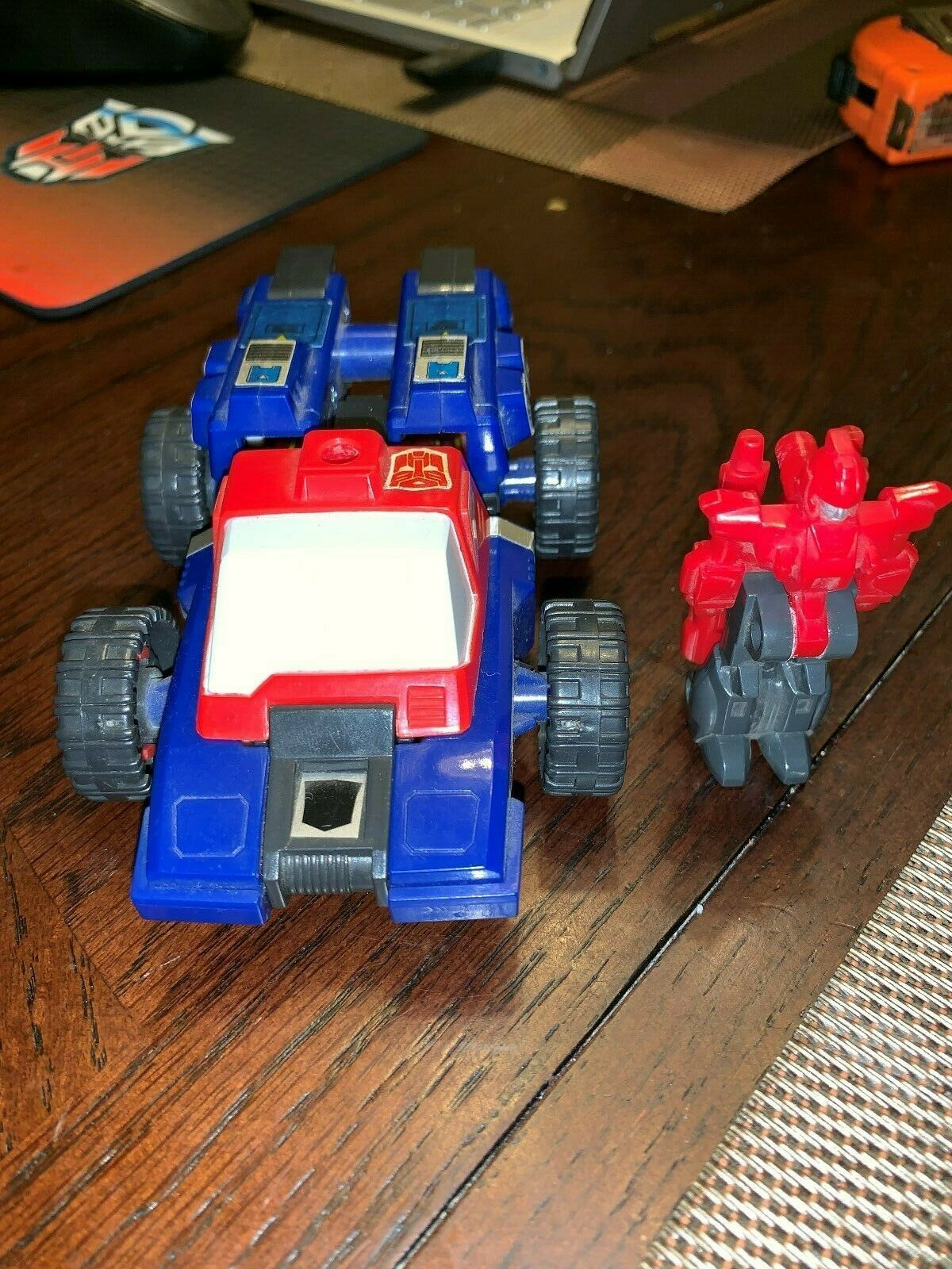Ligne de mire 100% Complet Targetmasters 1987 Vintage Hasbro G1  Transformers LQQK  mode