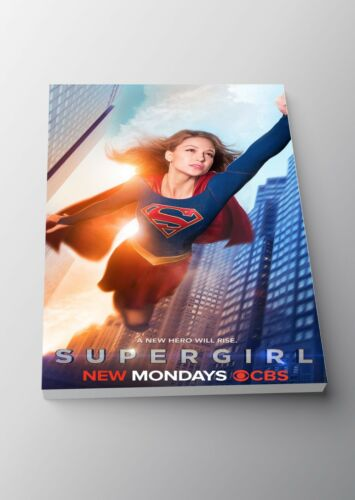 Framed Option Supergirl TV Show Poster or Canvas Art Print A3 A4 Sizes