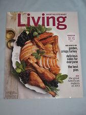 Martha Stewart Living Magazine Thanksgiving Issue/American Makers Nov 2013