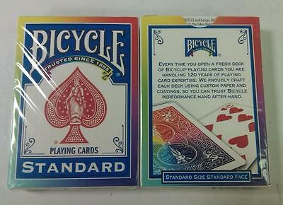 Playing Cards ~ S10322714 A Magic Tricks 1 deck Bicycle Rainbow Deck