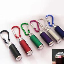 Sales 6pcs Portable Led Pocket Mini Keychain Flashlights Lot Torch Hardlight Hot