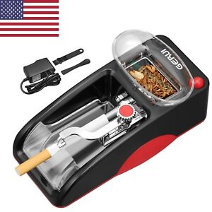 Red Cigarette Rolling Machine Electric Automatic Injector Maker Tobacco Roller  6902210195894