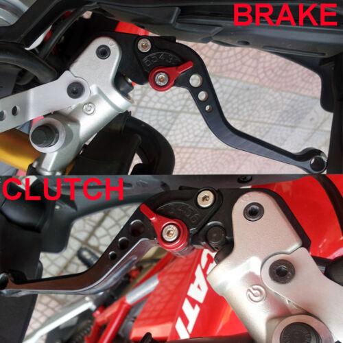 CNC Short Brake Clutch Levers for Suzuki GSX600F GSX750F Katana 1998-2005 2006
