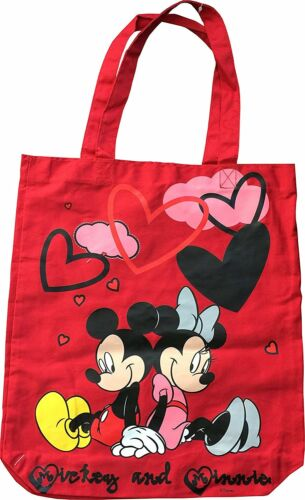 Minnie Mouse Shopper Red Tote Bag