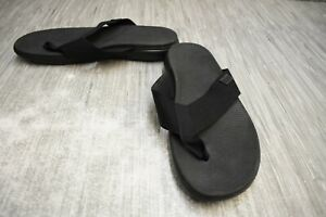 FitFlop-Lido-II-V59-001-Sandals-Men-039-s-Size-12-Black