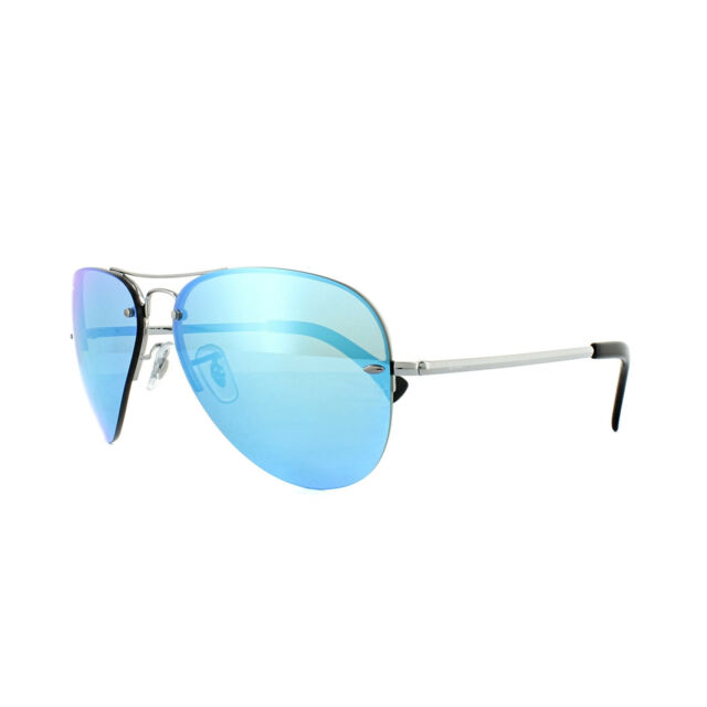 076e18bed76 Sunglasses Ray-Ban Highstreet Rb3449 in Silver grey Gunmetal for ...