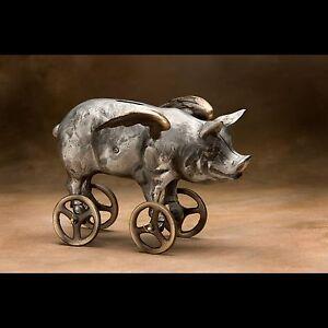Scott Nelles Flying Pig Bank Ebay