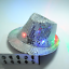 Flashing Light Up LED Adult Kid Trilby Sequin Jazz Hat Fancy Dance Party Dress