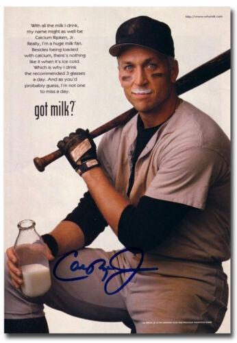 """Got Milk Cal Ripken Fridge Magnet Size 2.5/"""" x 3.5/"""""""