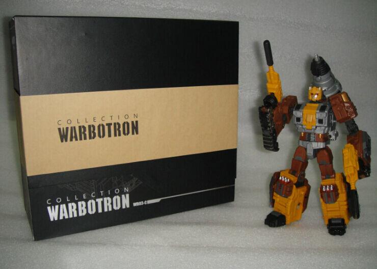 Nuevo Warbotron Transformers WB03-C Computron Nosecone acción figura sin usar y en caja sellada