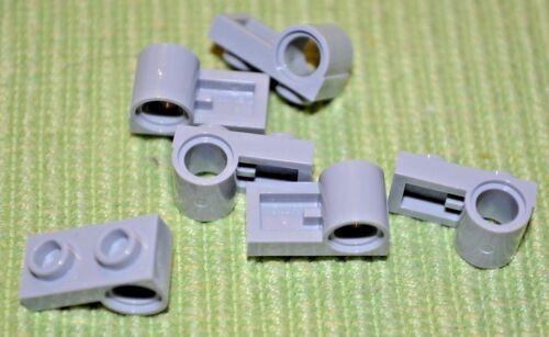 1x2 Light Gray Plate w// Technic Hole Under Brick ~ Lego ~ NEW ~ 6