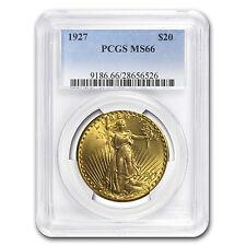 $20 Saint-Gaudens Gold Double Eagle - Random Year - MS-66 PCGS - SKU #21692