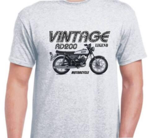 Yamaha RD200 72 inspired vintage motorcycle classic bike shirt tshirt