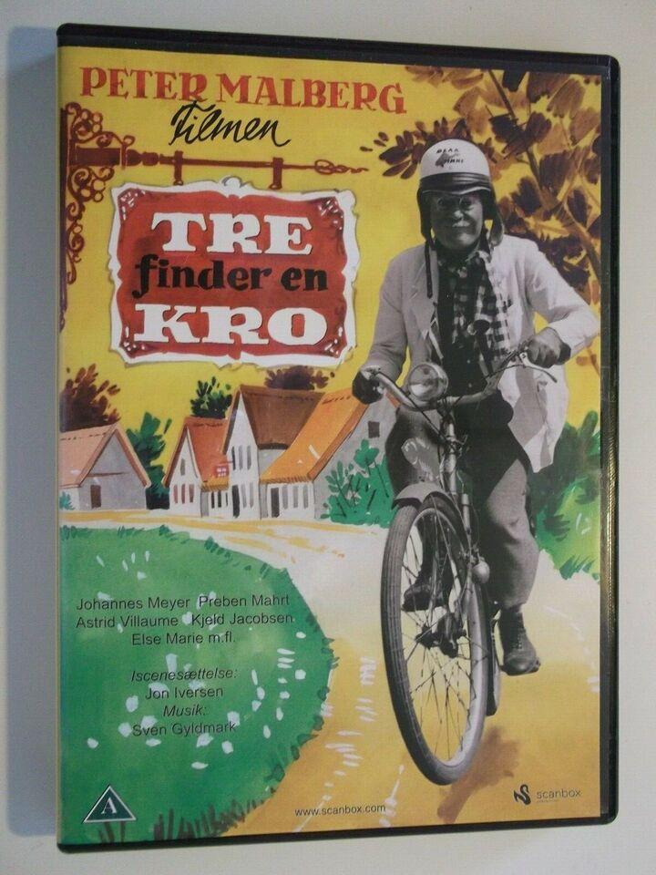 Tre Finder En Kro, instruktør Jon Iversen, DVD